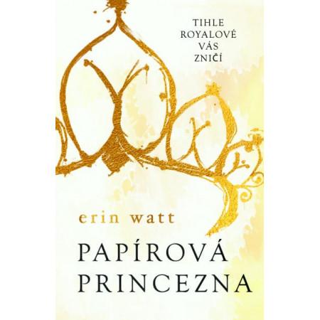 Papírová princezna - mírně poškozeno